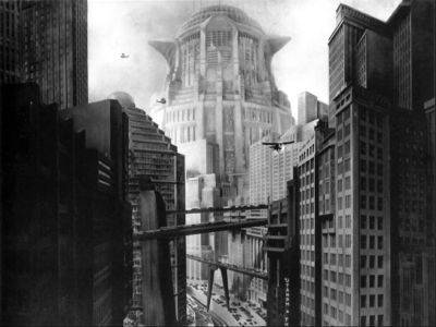 Picture Of A Screenshot From The Film Metropolis 1927