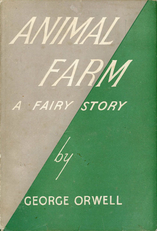 Picture Of Animal Farm First Edition Book Cover