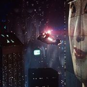 Picture Of Blade Runner Spinner Flyby