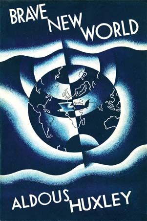 Picture Of Brave New World First Edition Cover