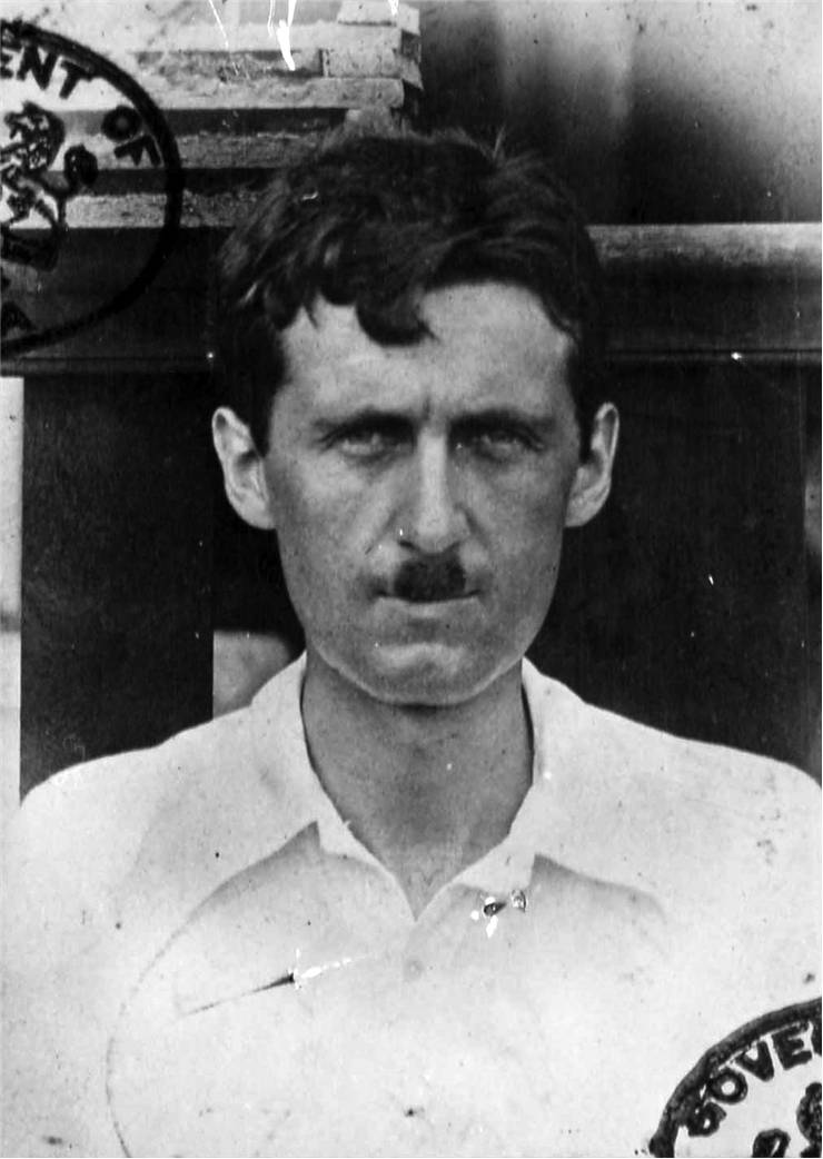 Picture Of George Orwell Novelist