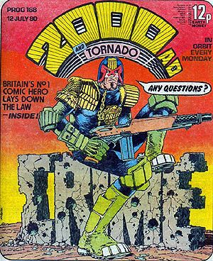 Picture Of Judge Dredd Cover