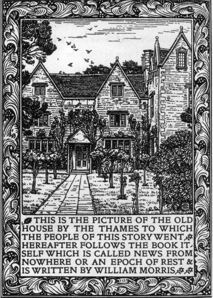 Picture Of News From Nowhere By Kelmscott Manor