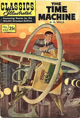 Picture Of The Time Machine Classics Illustrated