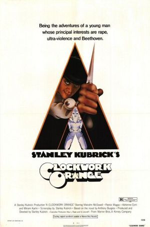 Picture Of Theatrical Release Poster Of A Clockwork Orange Film