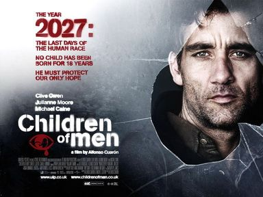 Picture Of Theatrical Release Poster Of Children Of Men Film