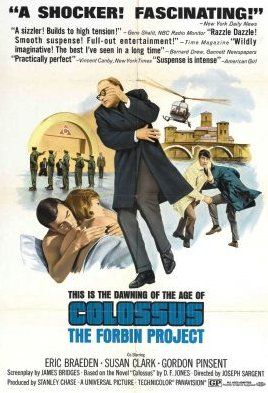 Picture Of Theatrical Release Poster Of Colossus The Forbin Project 1970