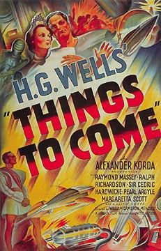 Picture Of Theatrical Release Poster Of Film Things To Come 1936