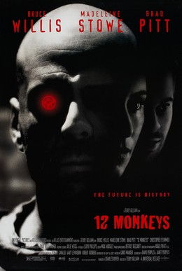 Picture Of Theatrical Release Poster Of Twelve Monkeys 1995