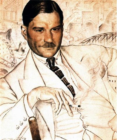 Picture Of Yevgeny Zamyatin 1923